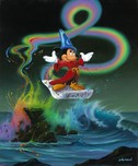 Jim Warren Fine Art Jim Warren Fine Art Mickey Making Magic