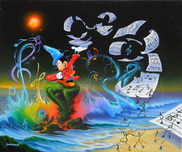 Jim Warren Fine Art Jim Warren Fine Art Mickey the Composer