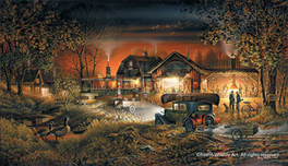 Terry Redlin Terry Redlin Morning Warm-Up