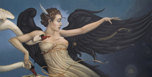 Michael Parkes Art Michael Parkes Art Nightfall