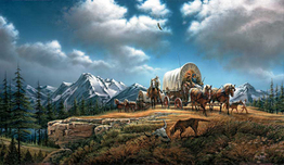 Terry Redlin Terry Redlin O Beautiful for Spacious Skies