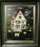Michael Godard Art & Prints Michael Godard Art & Prints Olive House (Framed)
