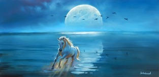 Jim Warren Fine Art Jim Warren Fine Art Full Moon Rising