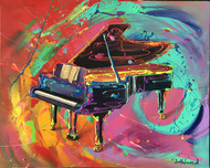 Jim Warren Fine Art Jim Warren Fine Art Grand Piano