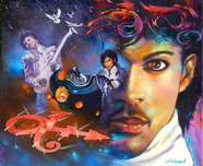 Jim Warren Fine Art Jim Warren Fine Art Prince - Purple Rain
