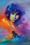 Jim Warren Fine Art Jim Warren Fine Art Wild Spirit of Jim Morrison