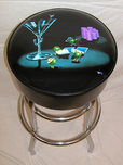 Michael Godard Art & Prints Michael Godard Art & Prints Bar Stool - Pocket Rockets