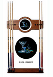 Michael Godard Art & Prints Michael Godard Art & Prints Pool Shark - Pool Cue Rack