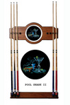 Michael Godard Art & Prints Michael Godard Art & Prints Pool Shark II - Pool Cue Rack