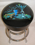 Michael Godard Art & Prints Michael Godard Art & Prints Bar Stool - Pool Shark II