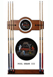 Michael Godard Art & Prints Michael Godard Art & Prints Pool Shark III - Pool Cue Rack