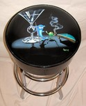 Michael Godard Art & Prints Michael Godard Art & Prints Bar Stool - Pool Shark