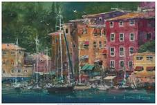 James Coleman Prints James Coleman Prints Portofino Afternoon (PP)