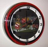 Michael Godard Art & Prints Michael Godard Art & Prints Neon Clock - Praying for 7