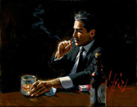 Fabian Perez Fabian Perez Study for Proud to A Man III