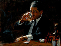 Fabian Perez Fabian Perez Proud to be a Man IV