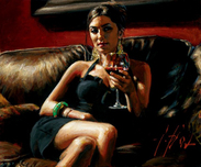 Fabian Perez Fabian Perez Red on Red V