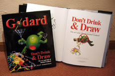 Michael Godard Art & Prints Michael Godard Art & Prints Godard - The Book (Don't Drink and Draw Hard Back)