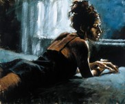 Fabian Perez Fabian Perez Renee On Bed IV