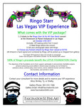 Ringo Starr Ringo Starr Ringo Starr Las Vegas VIP Experience!