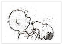 Tom Everhart prints Tom Everhart prints Salmon Breath - Hey Dude, Where's My Color? (SN)