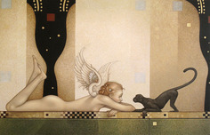Michael Parkes Art Michael Parkes Art See No Evil