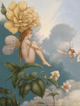 Michael Parkes Art Michael Parkes Art Shade of the Rose