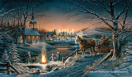 Terry Redlin Terry Redlin Sharing the Evening AP