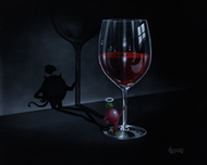 Michael Godard Art & Prints Michael Godard Art & Prints She Devil Wine (AP)