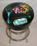 Michael Godard Art & Prints Michael Godard Art & Prints Bar Stool - Shoot the Wad