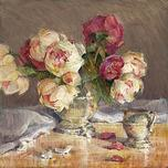 Jan Saia Jan Saia Peonies and Silver