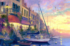 Artist James Coleman Artist James Coleman Harbor Lights