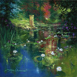 Artist James Coleman Artist James Coleman Reflections in the Sparkling Light (28x28)