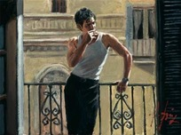 Fabian Perez Fabian Perez Smoking Under The Sun