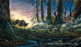 Terry Redlin Terry Redlin Strutting On In