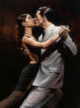 Fabian Perez Fabian Perez Study for Tango in Paris