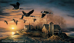 Terry Redlin Terry Redlin Sundown