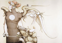 Michael Parkes Art Michael Parkes Art Surrender to the Light