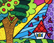 Romero Britto Art Romero Britto Art Sweet Home (SN)