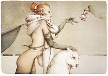 Michael Parkes Art Michael Parkes Art The Creation
