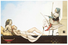 Michael Parkes Art Michael Parkes Art The Court Painter
