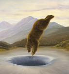 Robert Bissell Art Robert Bissell Art The Diver
