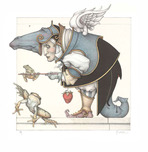 Michael Parkes Art Michael Parkes Art The Frog Collector