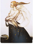 Michael Parkes Art Michael Parkes Art  Golden Salamander