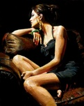 Fabian Perez Fabian Perez The Living Room IV