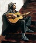 Fabian Perez Fabian Perez The Guitar Player II