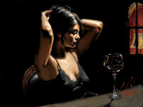 Fabian Perez Fabian Perez The Dark Room II