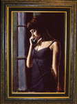 Fabian Perez Fabian Perez The Phone Call AP (Framed)