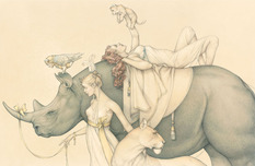 Michael Parkes Art Michael Parkes Art Traveling Circus