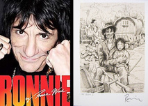 Ronnie Wood Ronnie Wood Ronnie - Signed Book